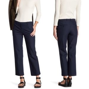 Theory Hartsdale Approach Crop Pants Deep Navy